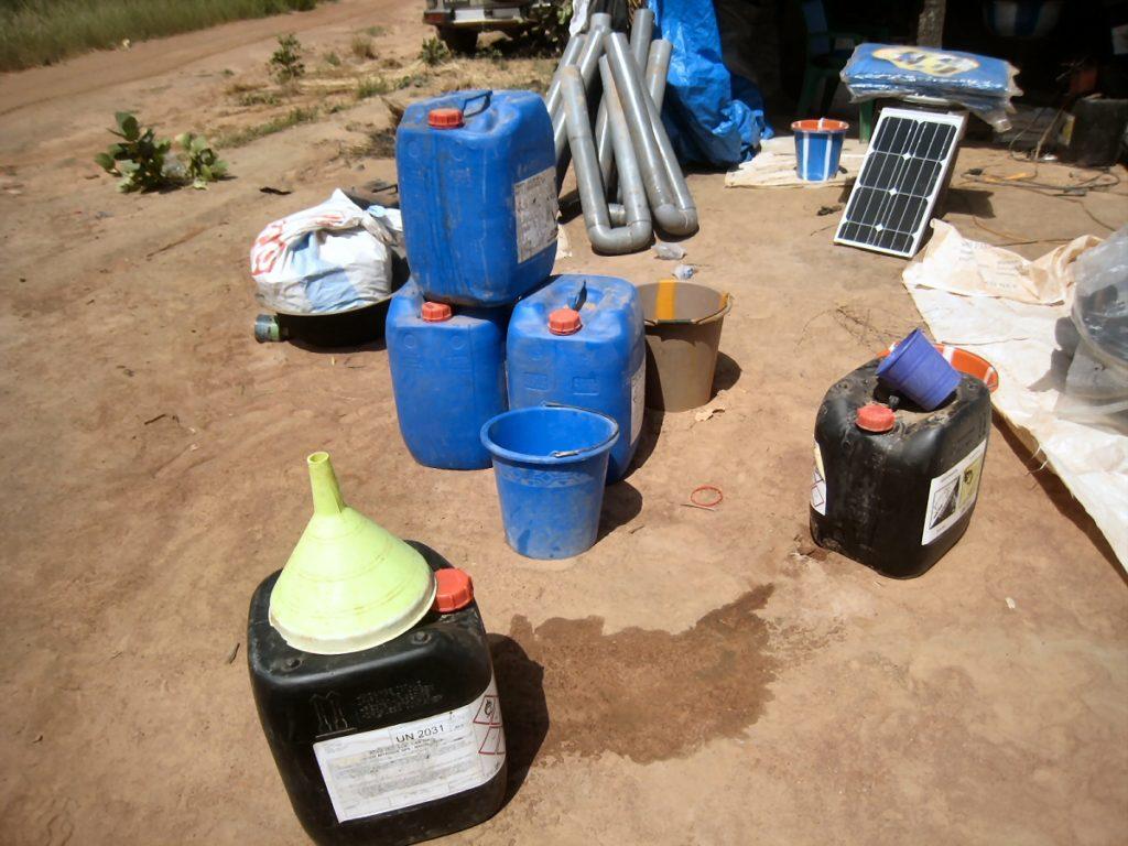Orpaillage et produits chimiques au Burkina Faso