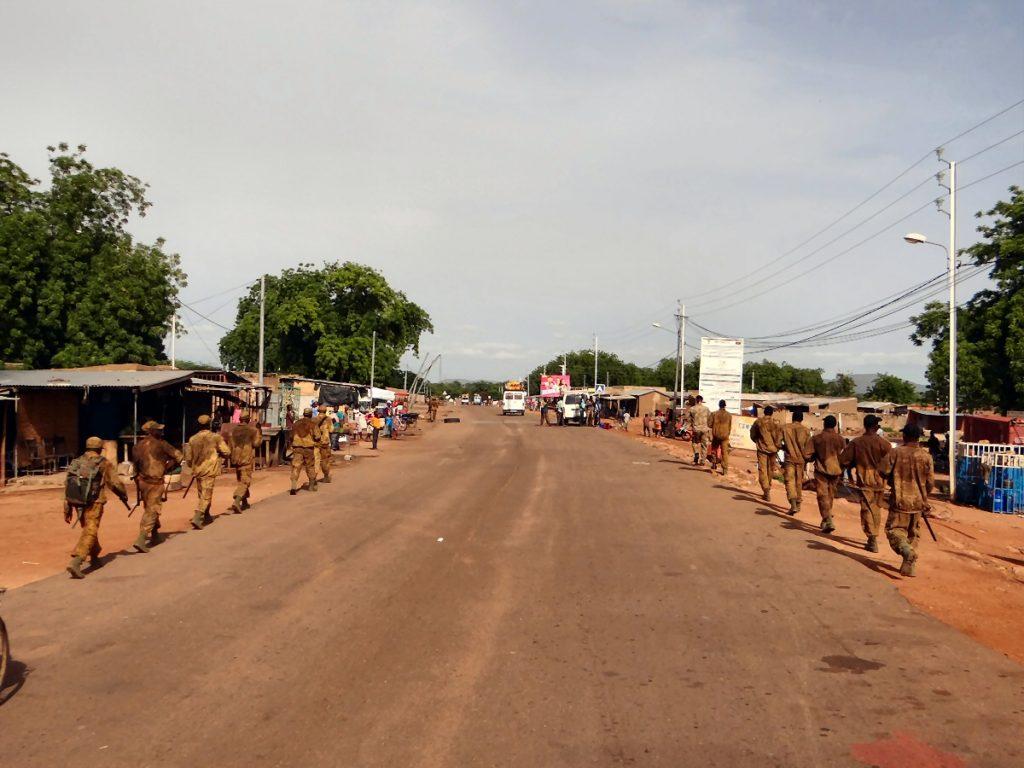 Formation rangers Burkina Faso
