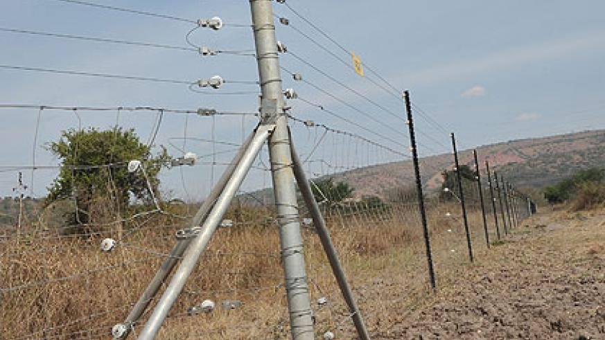 clôture parc national Akagera