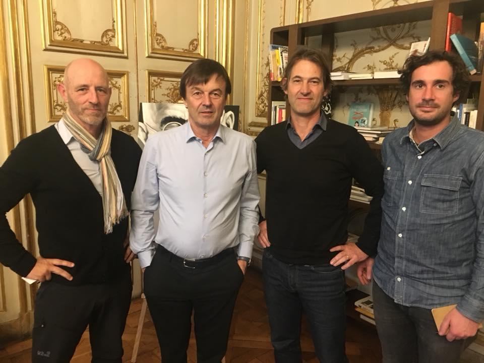 Rencontre avec Nicolas Hulot